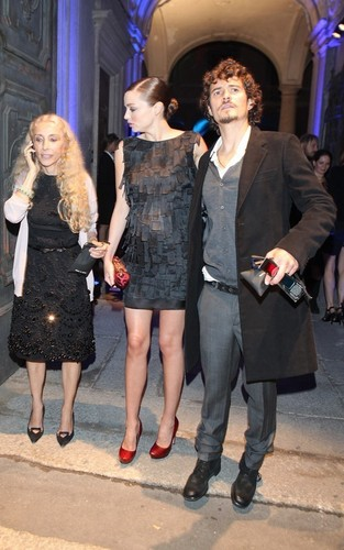 Orlando Bloom and Miranda Kerr at the Scent Of The Future event (September 25)