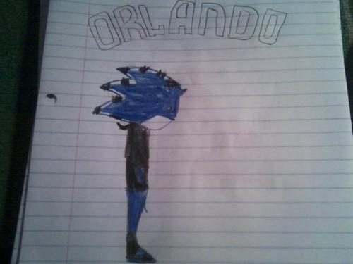 Orlando The Hedgehog