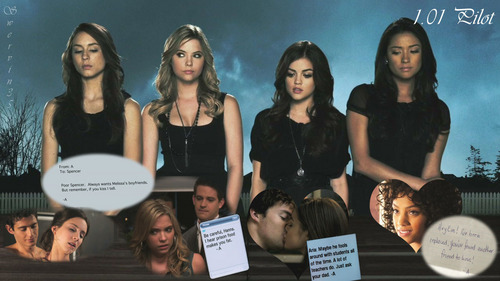 Pretty Little Liars TV toon achtergrond titled PLL Episode Fun