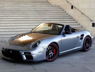 Porsche fond d'écran possibly with a roadster, a sports car, and a convertible called PORSCHE 997 TURBO
