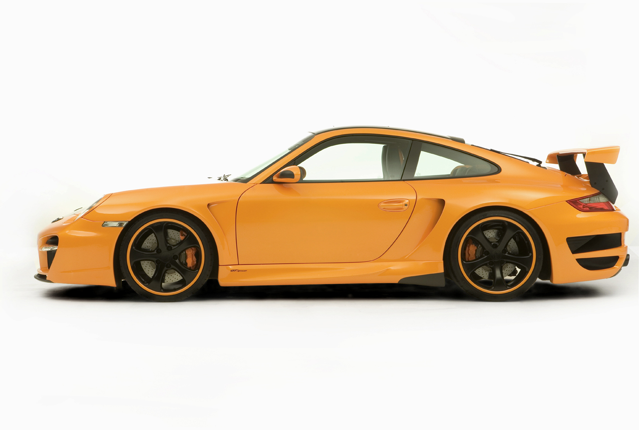 PORSCHE GT rue 911 TURBO par TechArt