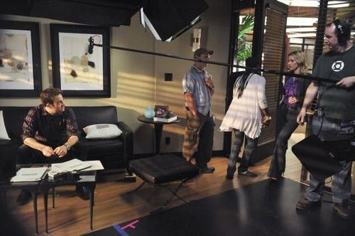 Paul/KaDee Behind the scenes
