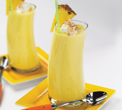 Pinneapple Vanille smoothie, batido
