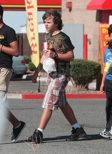 Prince Jackson on his trip in Vegas