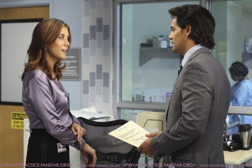 Private Practice - Episode 4.05 - In অথবা Out - Promotional ছবি