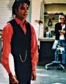 RARE: beautiful MJ ana a feather - michael-jackson photo