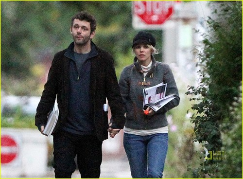 Rachel McAdams and Michael Sheen out in Toronto (October 3)