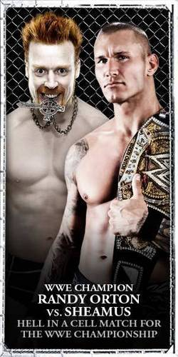 Randy Orton and Sheamus