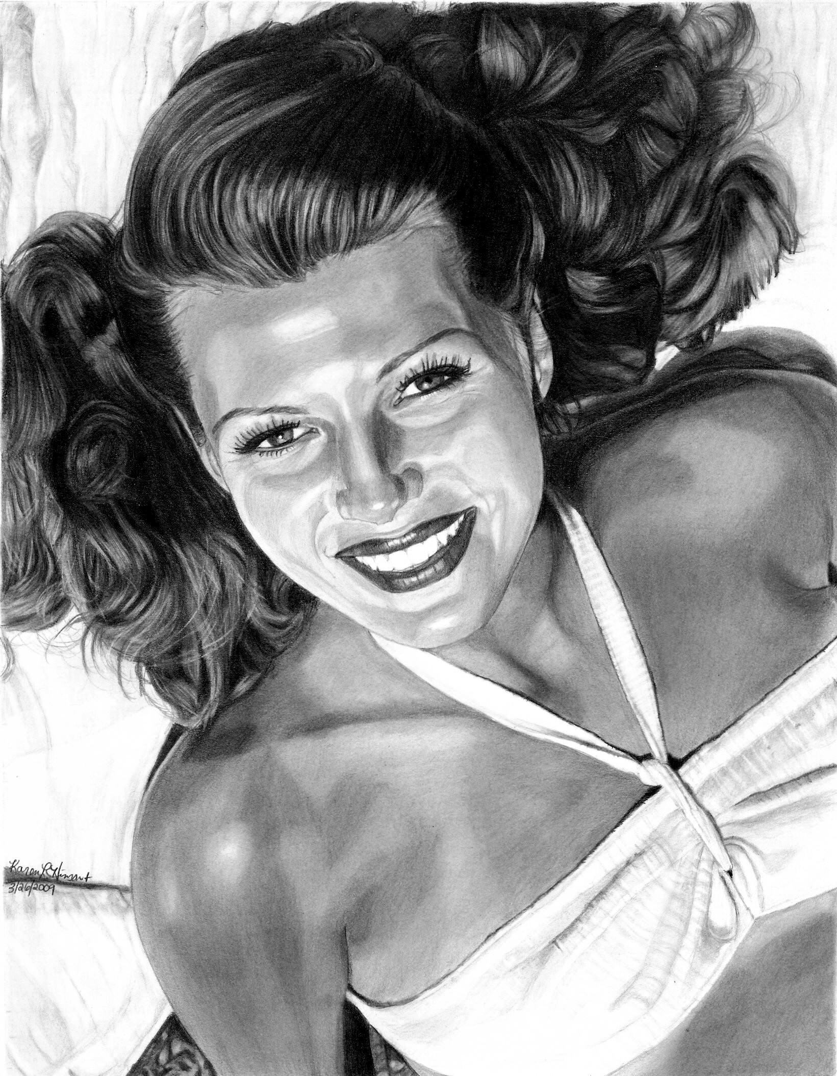 Rita hayworth naked sexy images