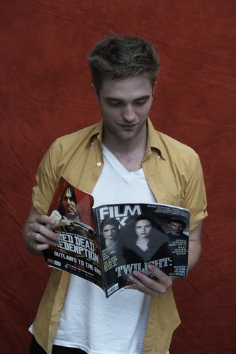 Rob's Film Ink Magazine Outtake