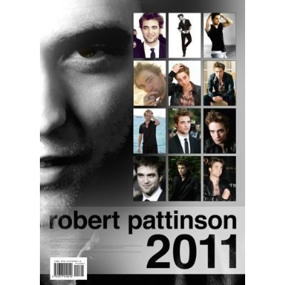 Robert Pattinson 2011 Calendar On đàn bà gan dạ, amazon