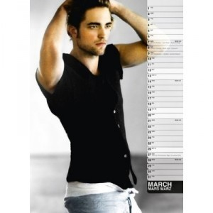 Robert Pattinson 2011 calendar