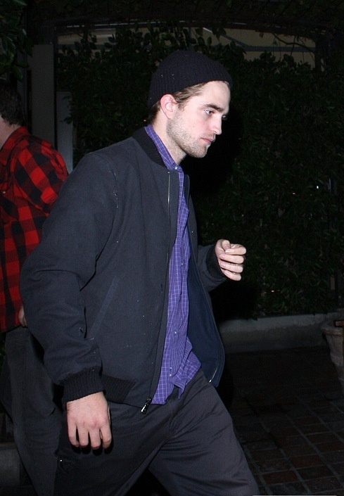 "Robsten after a restaurant ""Ago"" in West Hollywood"