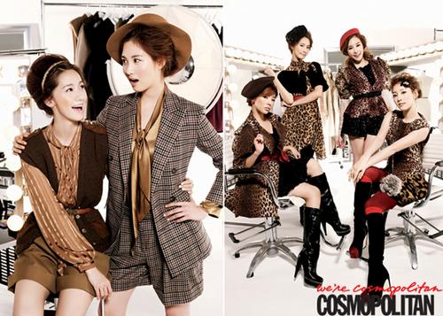 SNSD for Cosmopolitan