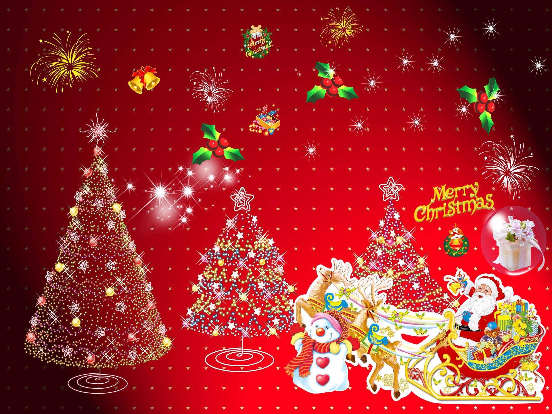 Santa Claus - Christmas Wallpaper (16092485) - Fanpop