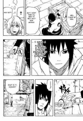 Sasuke Shippuden मांगा