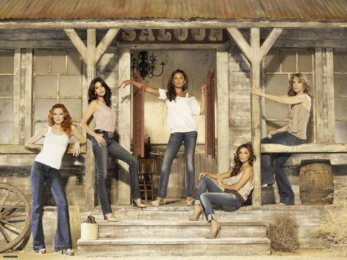 Desperate Housewives wallpaper possibly with a lumbermill, a street, and a granary titled Season 7