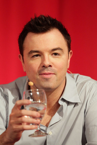Seth MacFarlane on the 2010 'American Dad' Television Critics Association Press Tour Panel