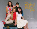 Sisterhood of The Traveling Pants - being-a-woman wallpaper