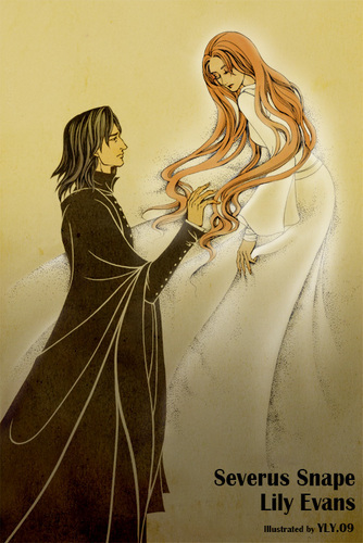 Snape x Lily - severus-snape Photo