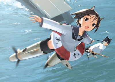 Strike Witches Hintergrund titled StrikeWitches 101