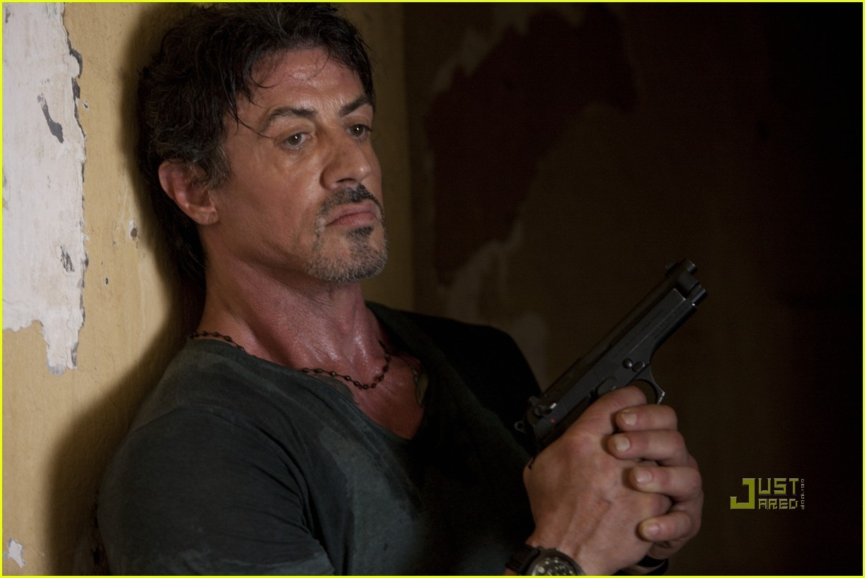 Sylvester Stallone in The Expendables - The Expendables ...