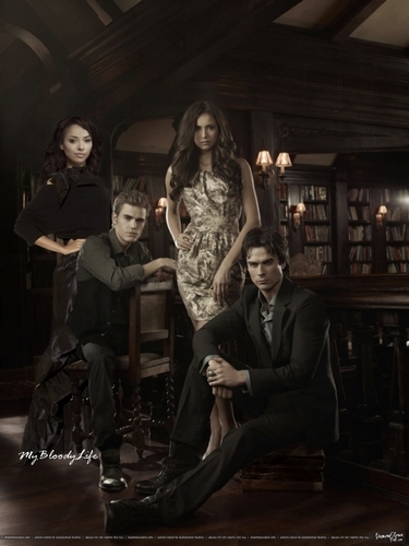 TVD promo manip - damon-and-bonnie Photo