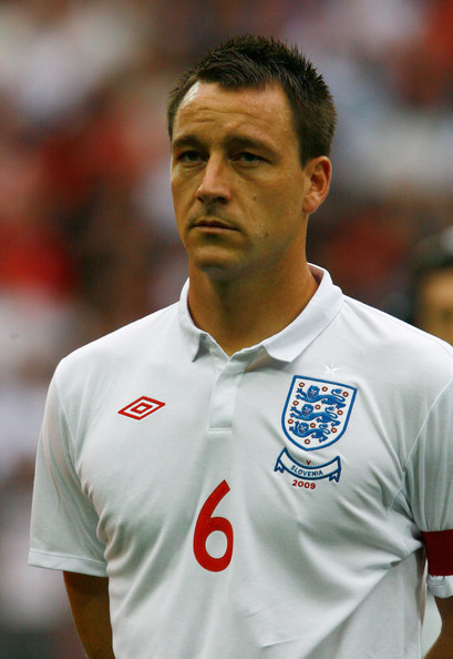 Terry playing for national team