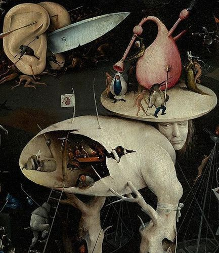 The Garden of Earthly Delights (Detail) - Hieronymus Bosch