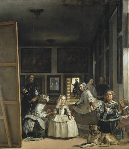 The Maids of Honour (Las Meninas) - Velazquez
