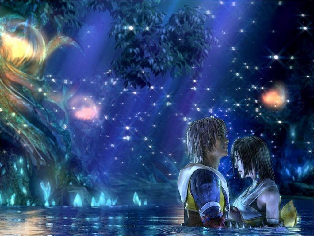 tidus and yuna background