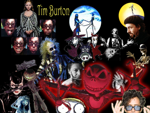 Tim Burton and Danny Elfman Films wallpaper probably with anime called Tim and danny movies