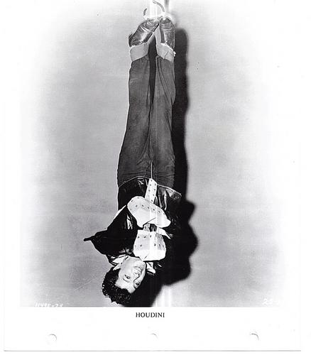 "Tony Curtis in ""Houdini"""