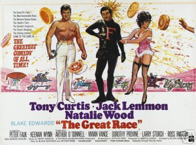 Tony Curtis, Natalie Wood & Jack Lemmon - The Great Race - 1965