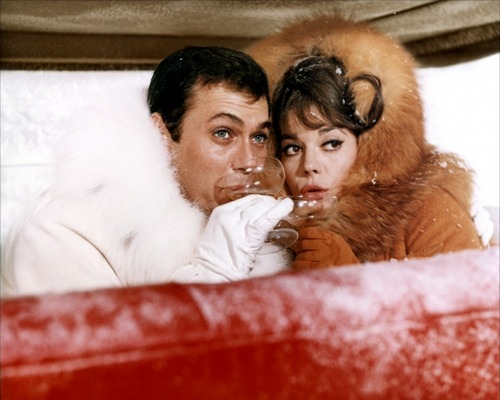 Tony Curtis & Natalie Wood - The Great Race - 1965