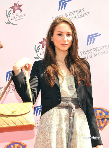 Troian @ 13th Annual Lili Claire Foundation Garden Party Benefit Luncheon