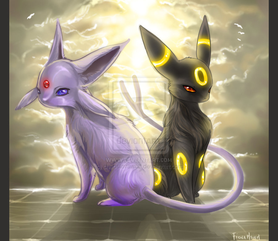 umbreon and espeon hd - photo #14