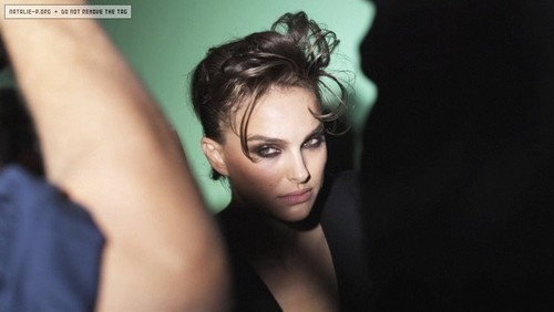 V Magazine (November 2009) - Behind The Scenes