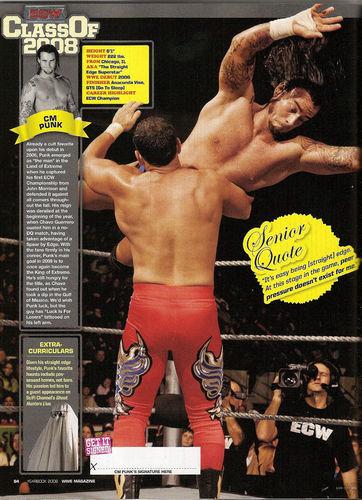 WWE Magazine Superstar Yearbook 2008