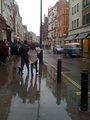 With Joe Jonas in London