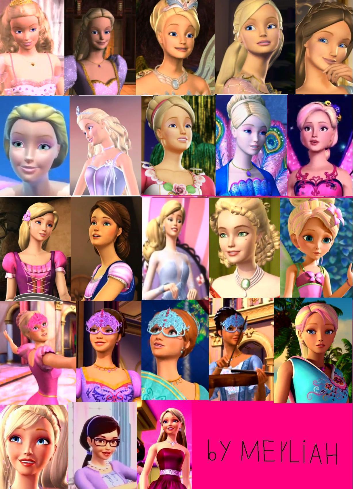 Barbie Princess Movies