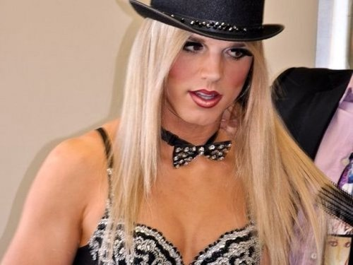 comedian and impersonator Britney Spears and Lady Gaga