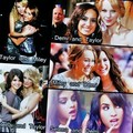 disney bfflz - miley-selena-taylor-and-demi photo