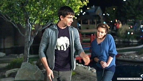 Alyssa Milano kertas dinding probably with a leisure wear titled my girlfriend's boyfriend > stills
