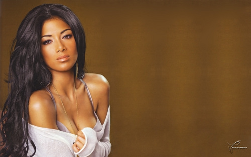 Nicole Scherzinger wallpaper possibly containing attractiveness and a portrait called nicoLe-