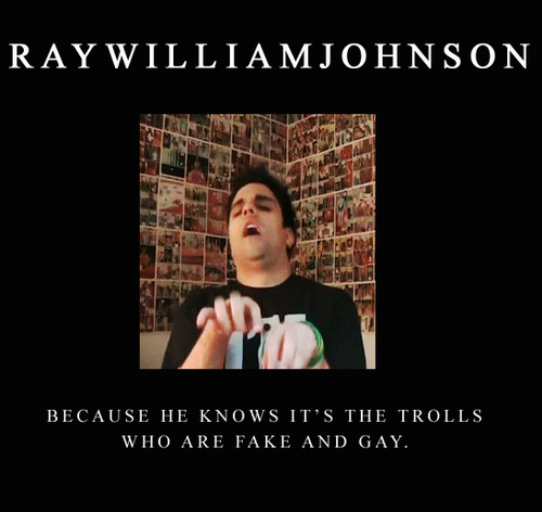 raywillianjohnson-gay and fake
