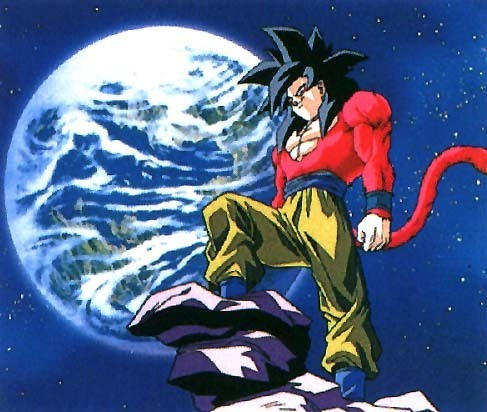 Dragon Ball Z Gt wallpaper containing anime titled ssj4 Goku