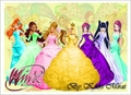 winx club in the ball