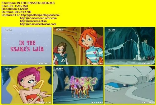winxclub Greece-in the snake's lair(alter channel)
