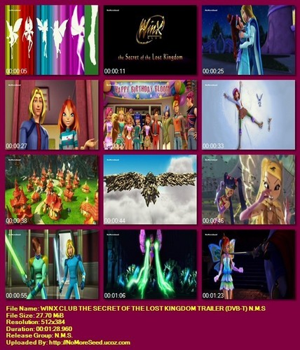 winxclub Greece-the secret of the Nawawala kingdom trailer(alter channel)